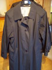 Mantel Jacke Damenmantel dunkelblau Gr