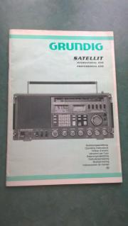 Manual Grundig Satellit