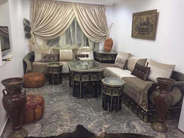 marokkanische sitzecke couch sedari orientalischer. Black Bedroom Furniture Sets. Home Design Ideas