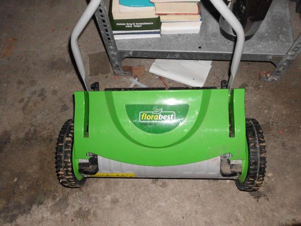Mechanischer neuwertiger Rasenmäher Gardenline