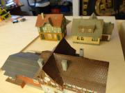 Modellbahn Häuser