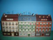 Modelleisenbahn Häuser - Auflösung -