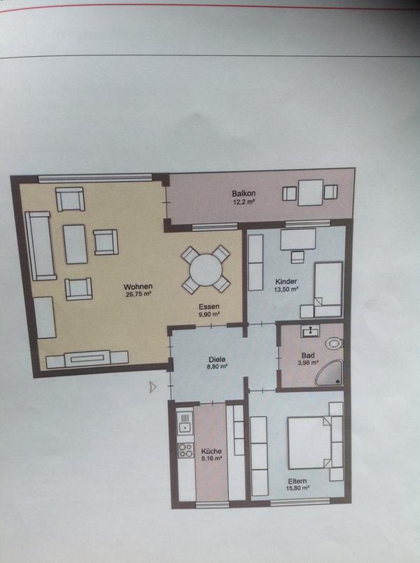 Moderne 3 1/ » Vermietung 3-Zimmer-Wohnungen