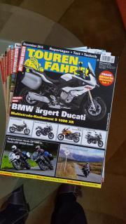 Motorrad - Zeitschrift TOURENFAHRER ,