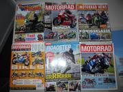 Motorradzeitschriften zu verschenken