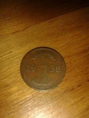 Münzen kleine Sammlung