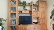 Naturholz Wohnzimmerschrank