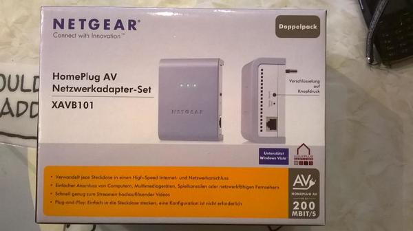 Netgear Powerline XAVB101 » Sonstige Hardware, Zubehör