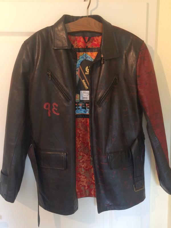 NEU: BELSTAFF Damen Leder Jacke Leather Jacket FREE TIBET HOLBORN - Oldenburg Innenstadt - Hiermit verkaufe ich eine neue, nicht getragene TIBET FREE TIBET Lederjacke der Marke BELSTAFF. Die Jack ist schwarz mit roten Druck, innen in herrlichem Innenfutter.Sie ist ein modischer Hingucker mit klarem Statement.Die Jache ist - Oldenburg Innenstadt