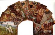 Neuschwanstein Farbige Ansichten vom Königsschloss