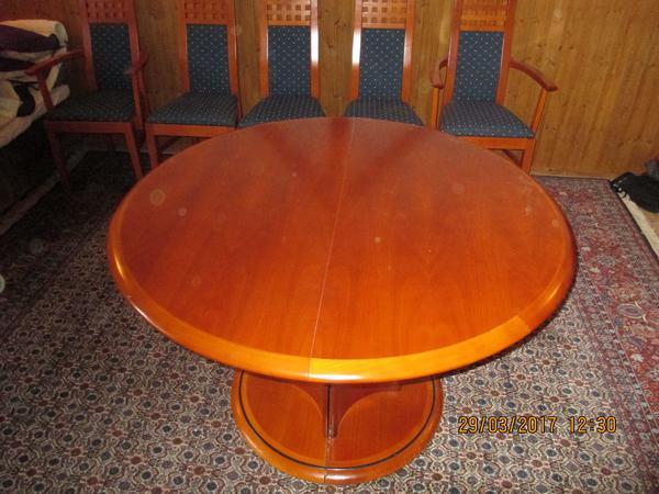 esszimmertisch 8 stuhlen gebraucht kaufen nur 4 st bis. Black Bedroom Furniture Sets. Home Design Ideas