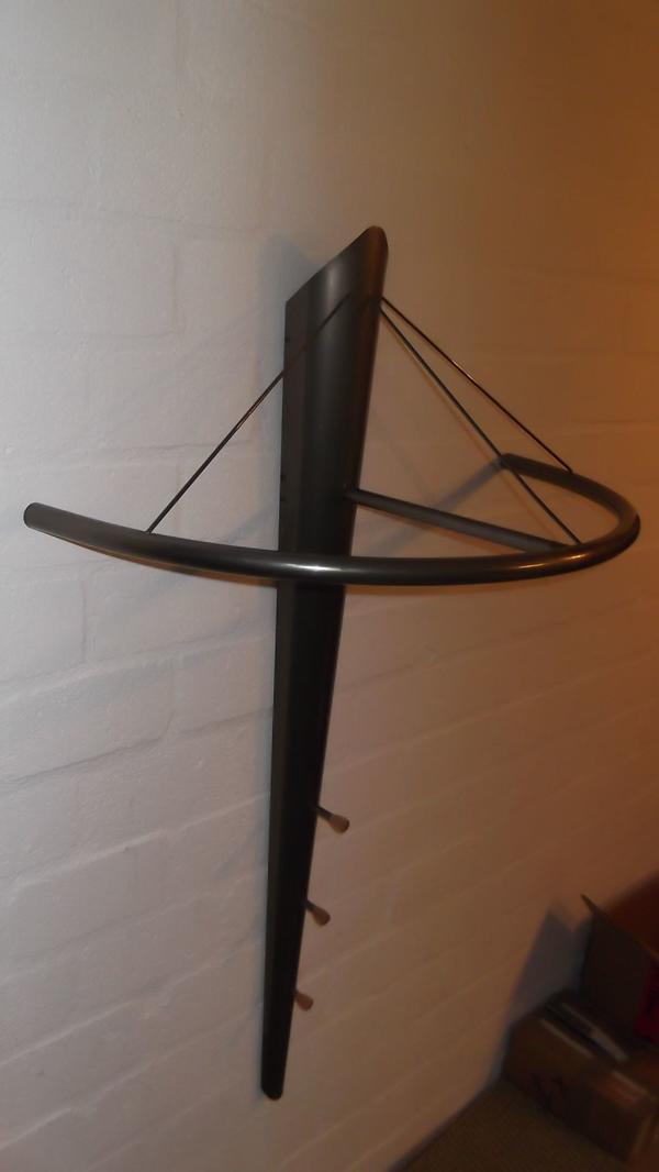 wand metall gebraucht kaufen nur noch 3 st bis 65. Black Bedroom Furniture Sets. Home Design Ideas