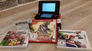 NEW 3DS + Ladekabel +