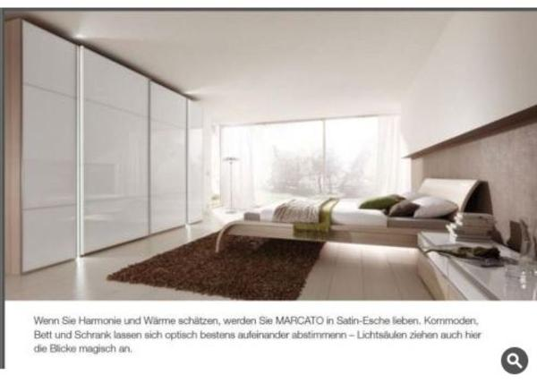 Nolte Schlafzimmer Kompl.- Satin-esche Weiss - Neu In Gärtringen ... Schlafzimmer Nolte
