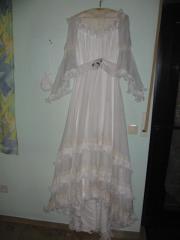 Nostalgie Brautkleid