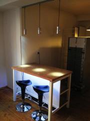 NUR 2TAGE! Küche,Bar inkl. Kühlschrank GUTER ZUSTAND (a.einzeln ... | {Küchenmöbel einzeln 56}