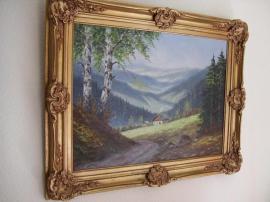 Kunst, Gemälde, Plastik - Öl auf Holz