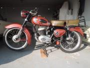 Oldtimer-Motorrad