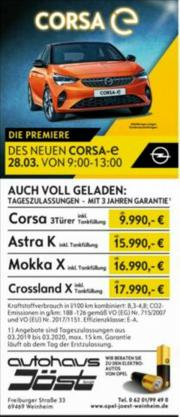 Opel Corsa F Edition 1