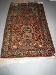 Orient Seiden-Teppich mit Zertifikat 1