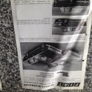 Original FIAT Aktuelle Info 1968