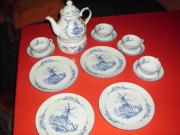 Ostfriesisches Teeservice!Blau/