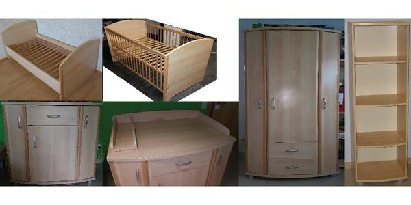 Kinderzimmer komplett paidi  Paidi Typ Ines Kinderzimmer komplett, Wickelkommode, Baby Bett ...