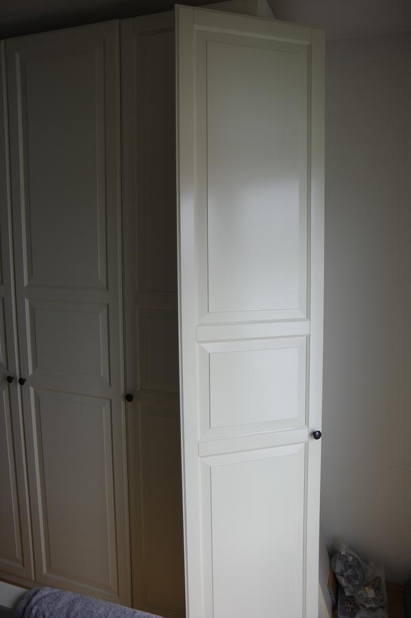 pax kleiderschrankt r mit scharnieren und t rgriff hb 2 30m 0 50m in m nchen ikea m bel. Black Bedroom Furniture Sets. Home Design Ideas