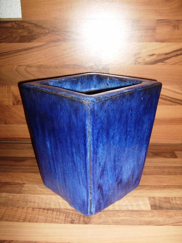 Pflanzkübel Keramik / Steingut Frost / Winterhart neuwertig ca. 26 ...