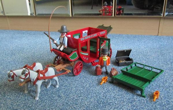 Playmobil kutsche 4399 postkutsche in olching spielzeug for Kutsche playmobil