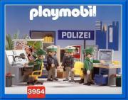 Playmobil - Polizeizentrale Wache Revier Einsatz