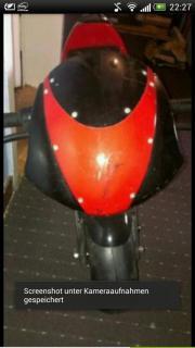 Pocketbike Motorrad 49ccm