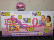 Polly Pocket Shopping-Tour-Rennbahn