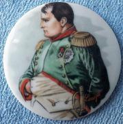 Porzellan Portrait-Scheibe