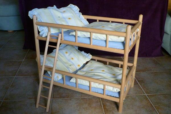 puppen etagenbett in pohl kaufen und verkaufen ber private kleinanzeigen. Black Bedroom Furniture Sets. Home Design Ideas
