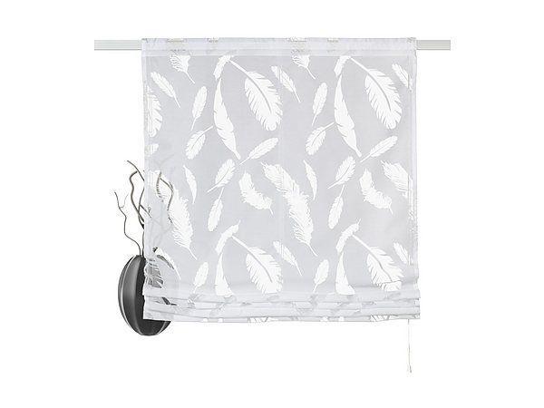 raffrollo mit feder motiven in wiesloch gardinen jalousien kaufen und verkaufen ber private. Black Bedroom Furniture Sets. Home Design Ideas