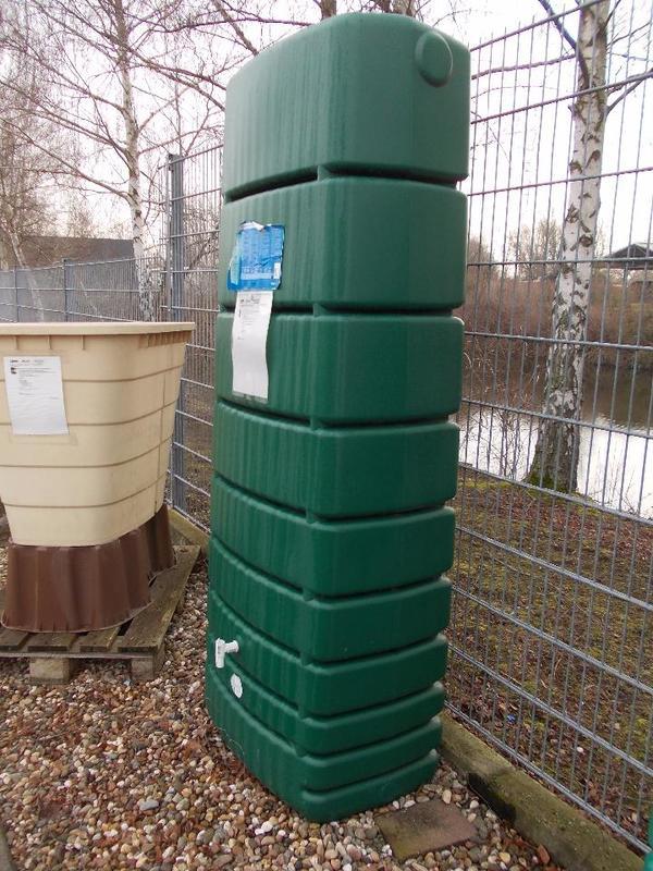 Fabulous Regenwasser Wandtank Slim 650 Liter grün 4Rain in Lampertheim  OY67