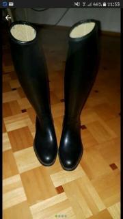 Reitstiefel,schwarz,Größe