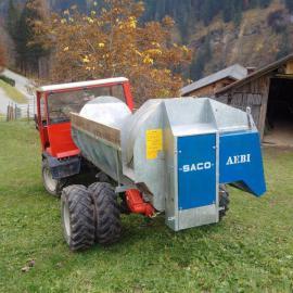 RESERVIERT Saco Seiten - Miststreuer für: Kleinanzeigen aus Marul - Rubrik Traktoren, Landwirtschaftliche Fahrzeuge