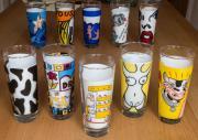 Ritzenhoff Milchglas Sammlung,