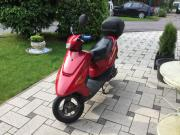 Roter Roller mit