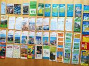 Routenplaner, Straßenkarten, Wanderkarten,