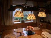 Rustikale Lampe für