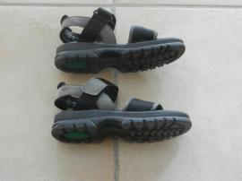 Schuhe, Stiefel - Salamander Echtleder-Trekking-Sandalen Gr 37 5