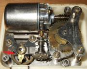 Sammler Uhrwerk Motoraufzug