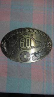 Sammlerplakette - Verkaufe 60 Jahre Nürburgring