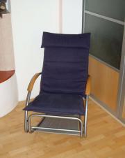 Schaukelstuhl Chaiselonge Bonaldo Swing - bequem