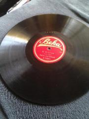 Schellackplatte Volksmusik