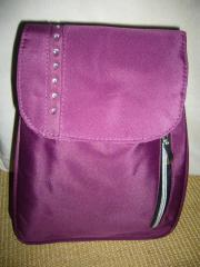 Schicker City - Rucksack lila violett