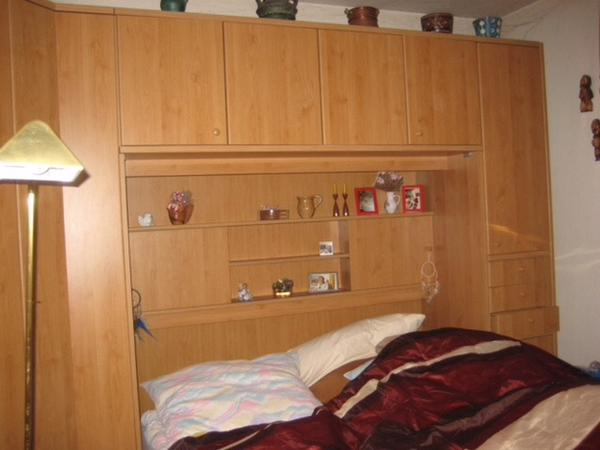 schlafzimmer Überbau bett schrank in schwabach - schränke